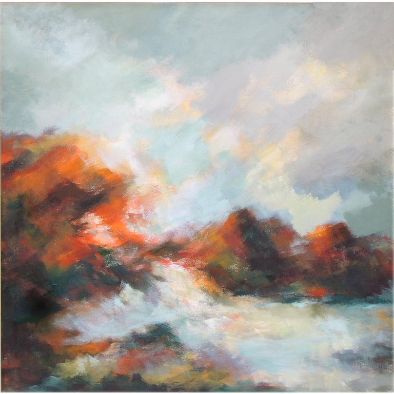 Abstract Landscape by V. Adams