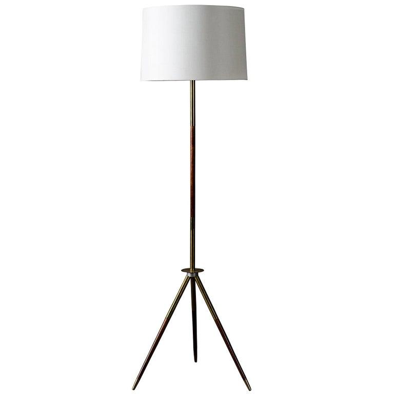 Midcentury Italian Tripod Floor Lamp