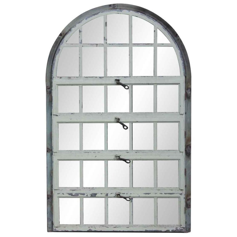 1930 Steel Palladian Window with Horizontal Openings and Frame from ...