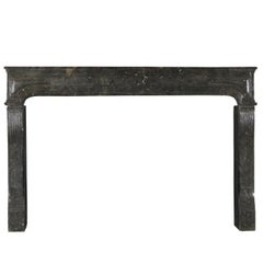 17th Century Rare European Original Antique Fireplace Mantle