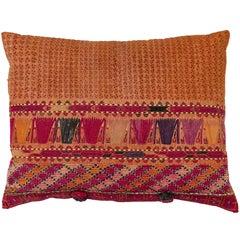 Afghani Pashtun Textile Pillow