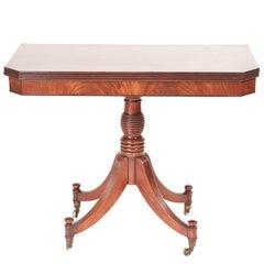 Regency Mahogany Tea or Side Table