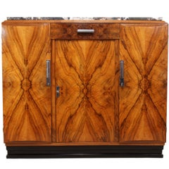 Art Deco Walnut Sideboard