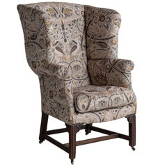 Georgian Wingback Chair, circa 1760