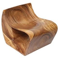 Indonesian Wood Loop Chair