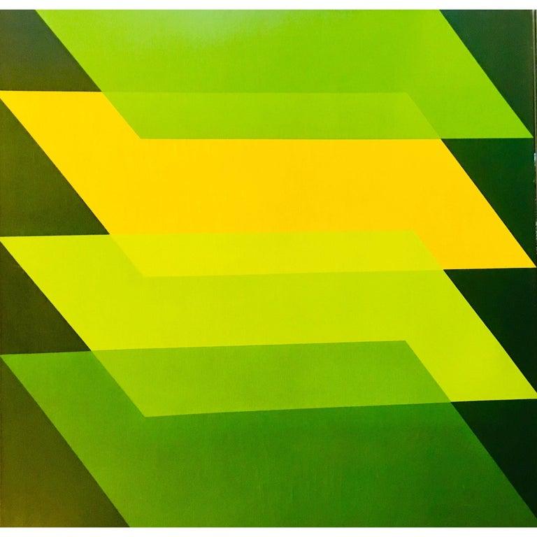 Original Florence Arnold Modern Painting California Artist in Laguna Art Museum