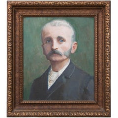19th Century Framed French Portrait