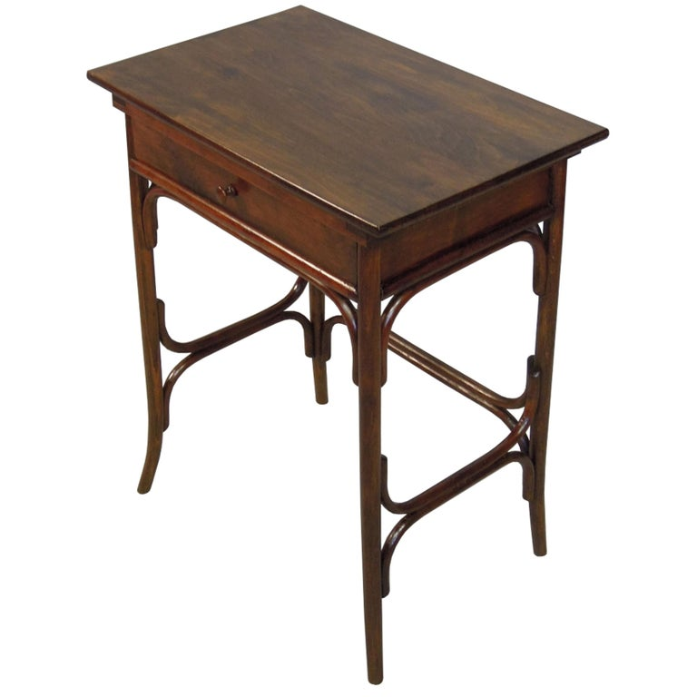 Art Noveau Bentwood Dressing Table by Thonet