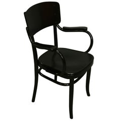 Rare Art Nouveau Chair with Inbuilt Hidden Toilet Seat by Gebrdüder Thonet