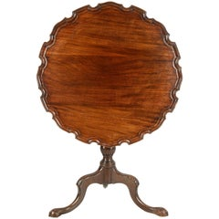 Georgian Period Mahogany Tripod Table