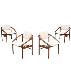 John Keal Dining Chairs for Brown Saltman