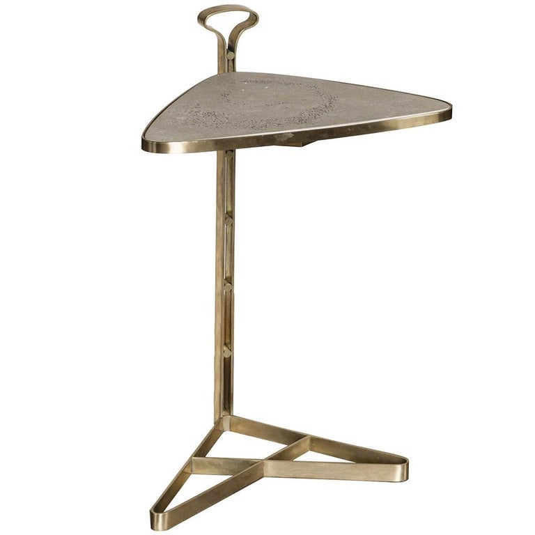 Ubi Triangular End Table For Sale