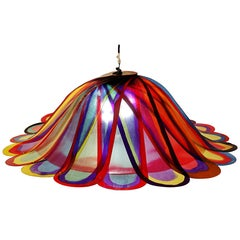 Flower Multi-Color Chandelier by Gaetano Pesce