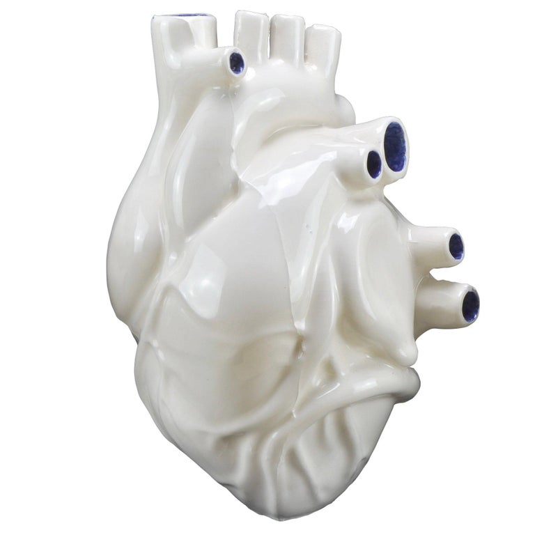 Apparato Circolatorio Heart Shaped Vase By Jago For Sale At 1stdibs