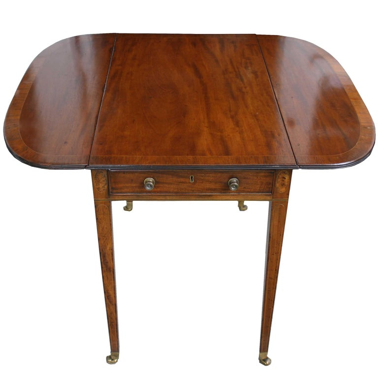 George III Pembroke Table For Sale