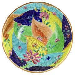 Chinese Export Tobacco Leaf Porcelain Bowl