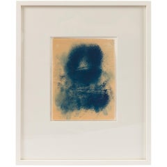 "Adja Yunkers ""Icon XX"" Framed Oil on Paper, USA, 1970s"