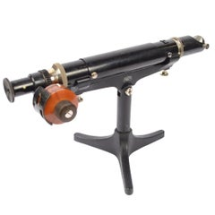 Refractor Polarimeter Made of Painted Brass, Early 1900