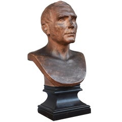 Terracotta Bust by Fanny Dubois-Davesne '1832-1900' Dated 1862
