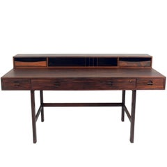 Danish Modern Rosewood Desk by Jens Quistgaard