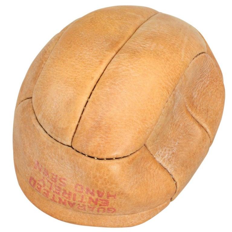 Antique Unused Leather Football