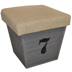 Storage Box / Seat with Number