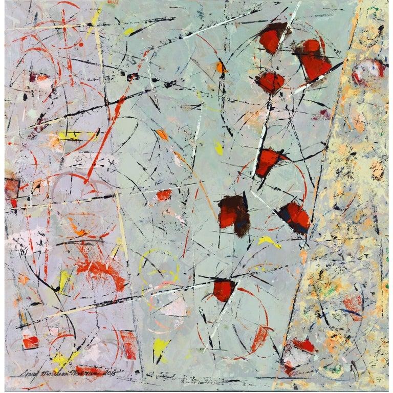 'May Strawberries' Original Painting by Sinai M. Waxman Well Exhibited Artist