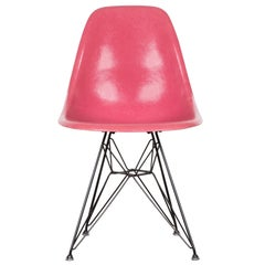 Eames DSR Rare Pink Dining Chair Herman Miller, USA