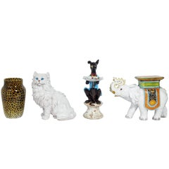 Selection of Large Italian Ceramic Animals