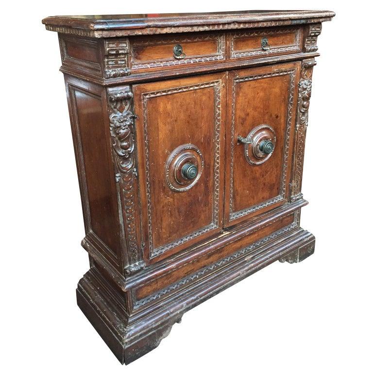 18th Century Neoclassical Italian Cabinet