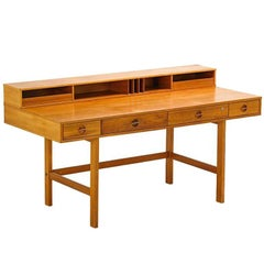 Peter Løvig Nielsen Teak Flip-Top Desk
