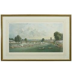 Henley Royal Regatta by Charles Cundall