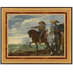 Siege of Hertogenbosch, After Oil Painting by Baroque Artist Pauwels Hillegaert