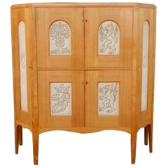 Swedish Art Deco Storage Cabinet by Otto Schulz for Boet