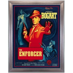The Enforcer, after Vintage Movie Poster, Hollywood Regency Era