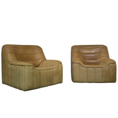 Vintage De Sede DS 84 Armchairs, Switzerland, 1970s