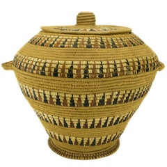 Lillooet Lidded Storage Basket