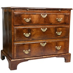 George II Walnut Bachelors Chest