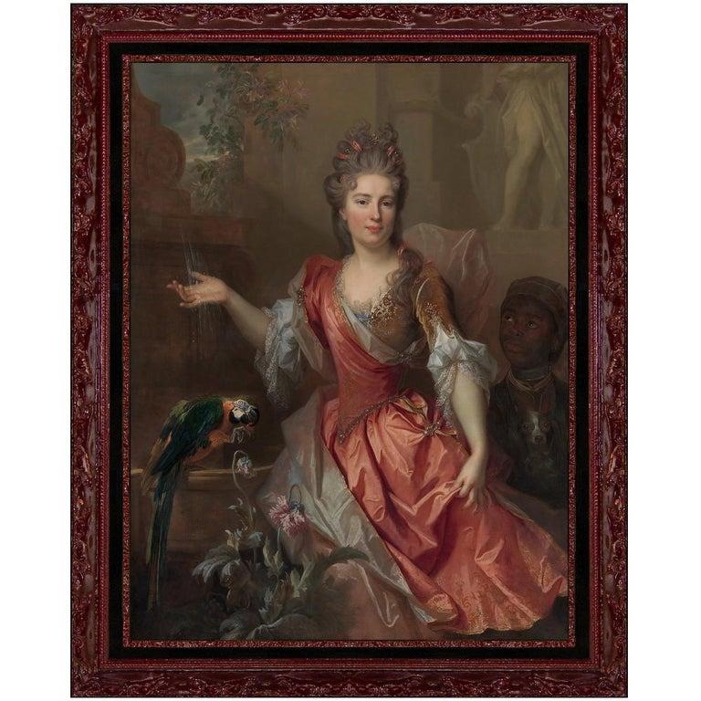 Madame De Thorigny, After Baroque Oil Painting by Nicolas De Largillière