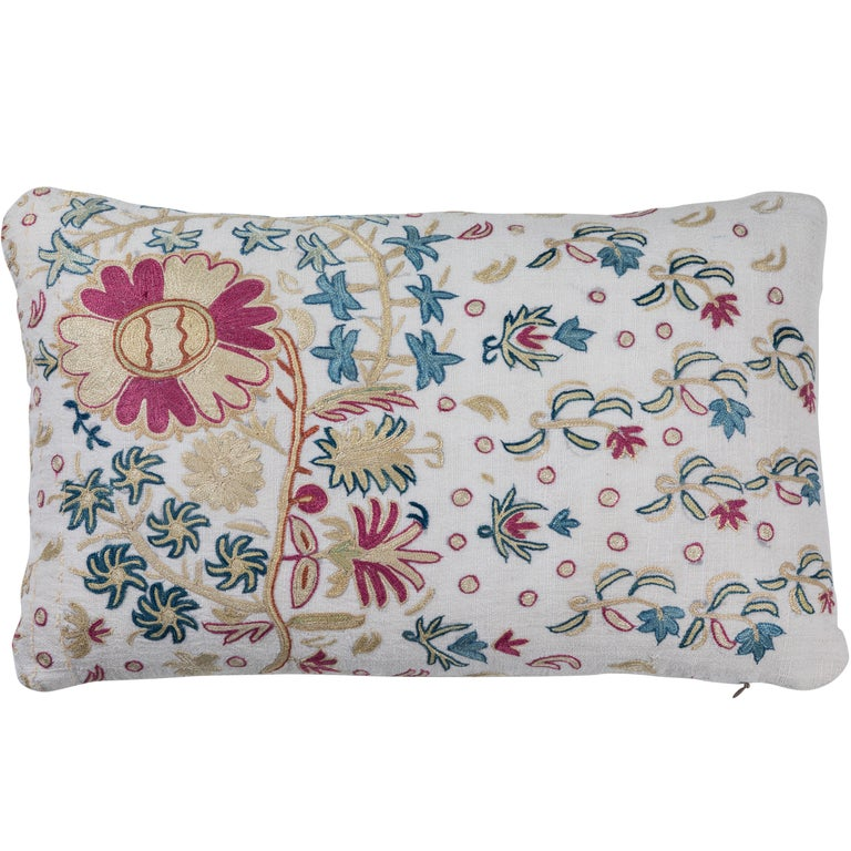 Crewel Embroidery Pillows