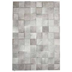 Pure Exotic Zebu Patchwork Cowhide Rug