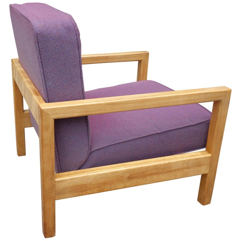 Midcentury George Nelson Cubist Lounge Chair Model 4774