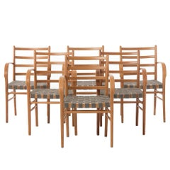 Danish Modern Transitional Viggo Sten Møller Dining Chairs