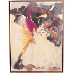 Abstract Midcentury Painting by Claffy Williams