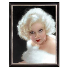 Jean Harlow, after Hollywood Regency Portrait by George Hurrell, Art Deco Era