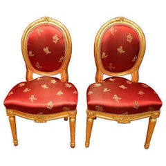 Pair of Louis XVI Style Chair French, 18th Century