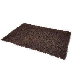 German Brown 100% Wool 1970s Carpet by Desso
