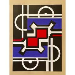 Nicolas Schöffer Lithography, 1960s
