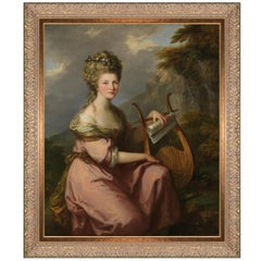 Sarah Harrop, after Neoclassical Oil Painting by Angelica Kauffman