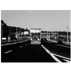 """Highway"" 2003 Black & White Photography/Gelatin Silver Print-Ana Maria Cortesão"